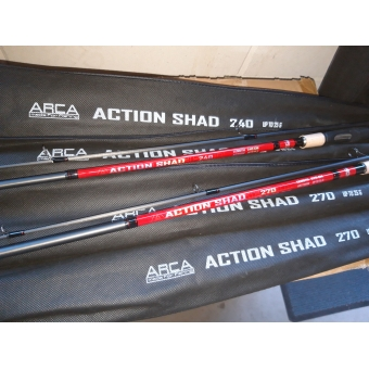 Action Shad Spin 2.70m (25g)